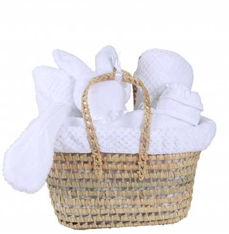 Clair De Lune Polly Honeycomb Gift Set - White